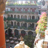 5 floors and central courtyard at The Mission Inn, Riverside