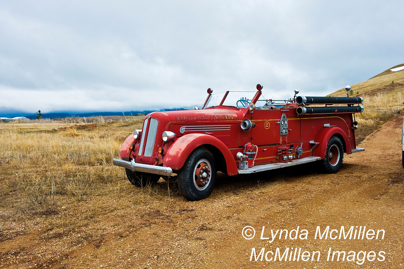 1947 Seagrave Motor Fire Truck from Nerstand Fire Department.