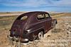 Vintage Ford Coupe, Badlands, South Dakota