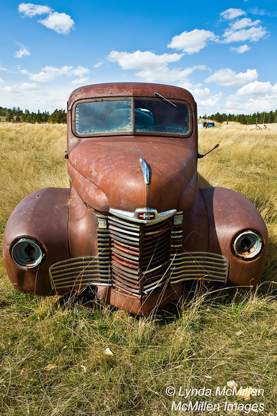 1948 International Truck owned by Bill Altaffer, Wyoming.