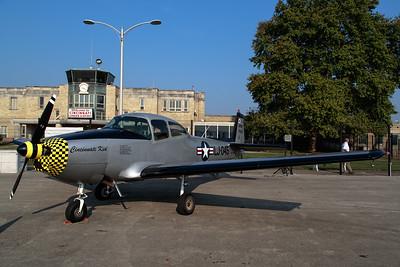 Vintage WWII airplanes