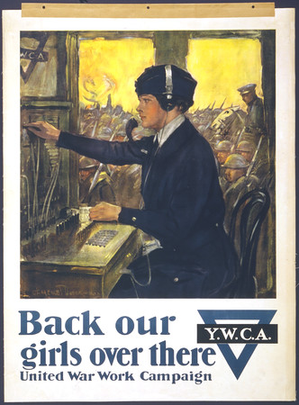 Back our girls over there United War Work Campaign