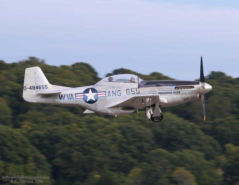 TF-51D departs runway 23 at 16:48hrs