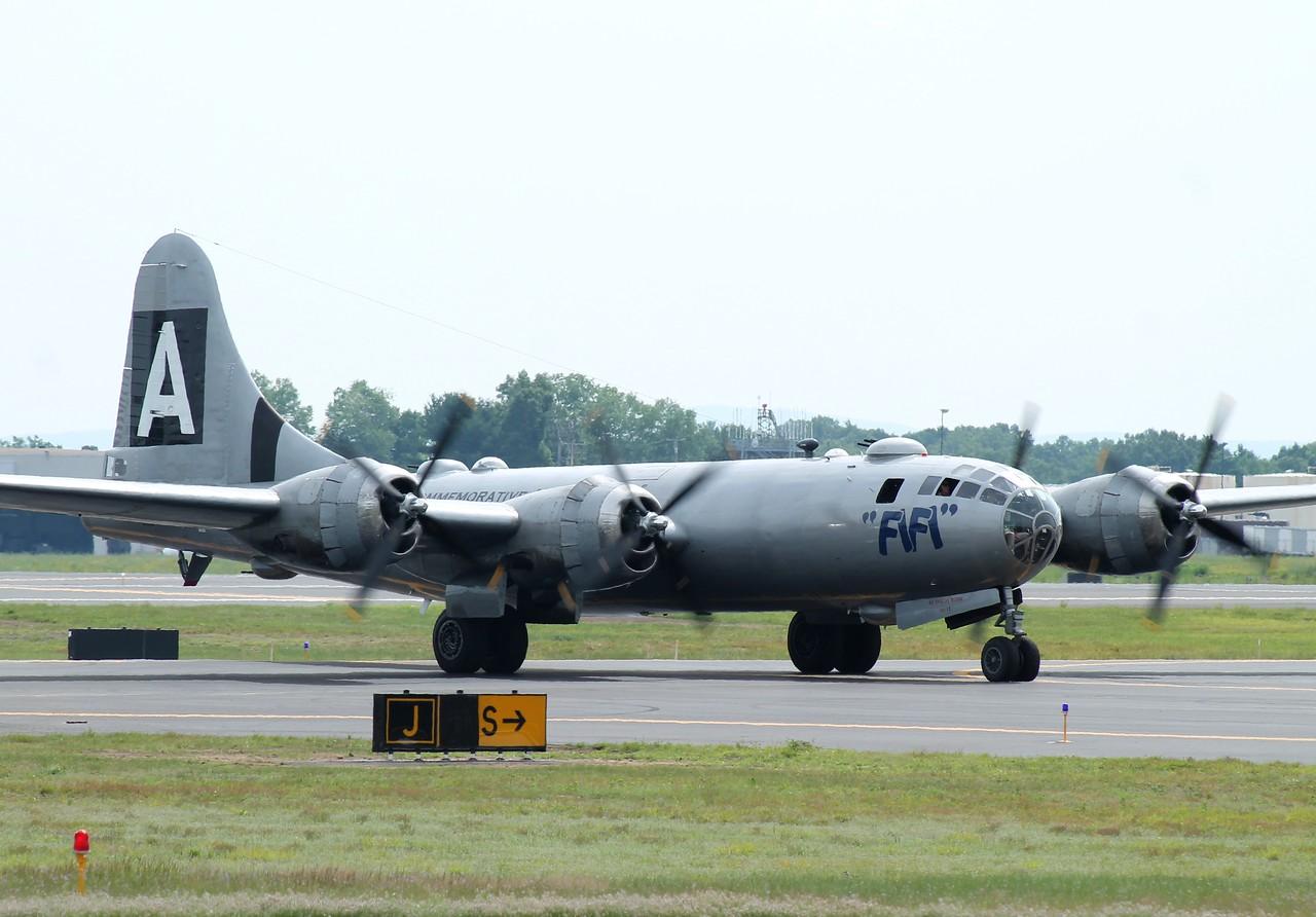 Commemorative Air Force B-29 Superfortress 'FIFI' at KBDL