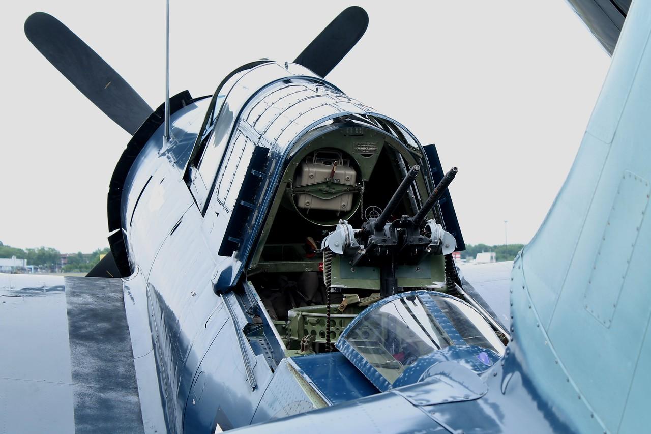 Commemorative Air Force SB2C Helldiver at KBDL