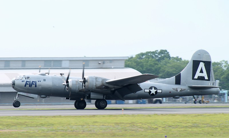 Commemorative Air Force B-29 Superfortress 'FIFI' at KBDL