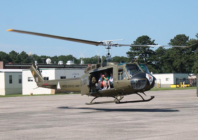 UH-1 Huey at KBDL