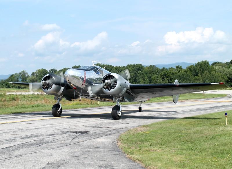 Beech C-45 at William H. Morse State Airport (KDDH) Bennington, VT