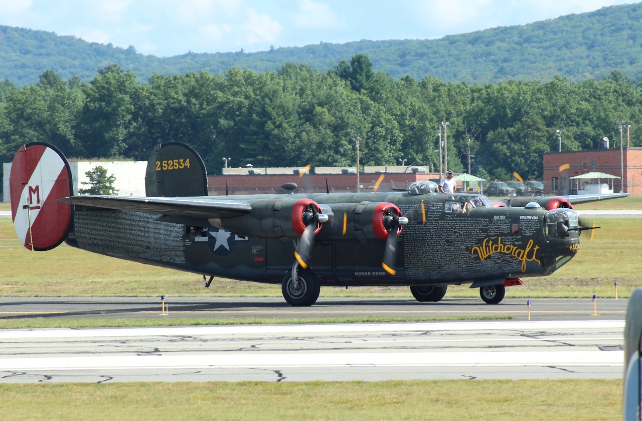 Collings Foundation B-24J '9Withcraft' at Barnes Municipal Airport- Westfield, MA.