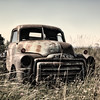 Old GMC Truck waiting to be restored - Fenwick, Nova Scotia