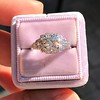 1.10ct Old European Cut Diamond Art Deco Frame Ring GIA J VS2 5
