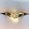 1.14ct Antique Transitional Cut Diamond Solitaire GIA 5