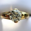 1.14ct Antique Transitional Cut Diamond Solitaire GIA 11