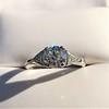 1.15ctw Vintage 3-Stone Diamond Ring 28
