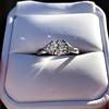 1.15ctw Vintage 3-Stone Diamond Ring 18