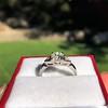1.15ctw Vintage 3-Stone Diamond Ring 9
