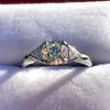 1.15ctw Vintage 3-Stone Diamond Ring 7