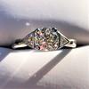 1.15ctw Vintage 3-Stone Diamond Ring 5