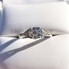 1.15ctw Vintage 3-Stone Diamond Ring 29