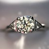 1.15ctw Vintage 3-Stone Diamond Ring 21