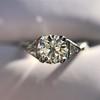 1.15ctw Vintage 3-Stone Diamond Ring 19