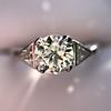 1.15ctw Vintage 3-Stone Diamond Ring 0