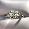 1.15ctw Vintage 3-Stone Diamond Ring 22