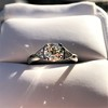 1.15ctw Vintage 3-Stone Diamond Ring 27
