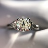 1.15ctw Vintage 3-Stone Diamond Ring 23