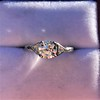 1.15ctw Vintage 3-Stone Diamond Ring 10