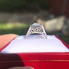 1.22ct Vintage Old European Cut Diamond Illusion Solitaire Ring 32