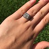 1.22ct Vintage Old European Cut Diamond Illusion Solitaire Ring 26