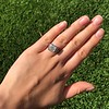 1.22ct Vintage Old European Cut Diamond Illusion Solitaire Ring 11