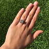 1.22ct Vintage Old European Cut Diamond Illusion Solitaire Ring 5