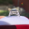 1.22ct Vintage Old European Cut Diamond Illusion Solitaire Ring 9