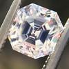 1.23ct Art Deco Asscher Cut Solitaire GIA H VS2 36