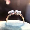 1.25ctw Antique Double Trefoil Diamond Ring 12