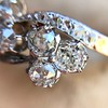 1.25ctw Antique Double Trefoil Diamond Ring 8