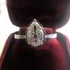 1.27ct Antique Pear Diamond Ring, GIA F VS2 26