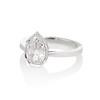 1.27ct Antique Pear Diamond Ring, GIA F VS2 1