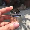 1.27ct Antique Pear Diamond Ring, GIA F VS2 11