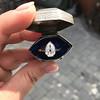 1.27ct Antique Pear Diamond Ring, GIA F VS2 15