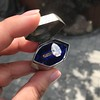 1.27ct Antique Pear Diamond Ring, GIA F VS2 12