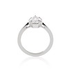 1.27ct Antique Pear Diamond Ring, GIA F VS2 3