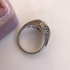 1.28ctw Old European Cut Diamond Die-Struck Ring  17