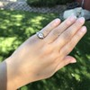 1.28ctw Old European Cut Diamond Die-Struck Ring  14