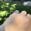 1.28ctw Old European Cut Diamond Die-Struck Ring  15