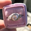 1.28ctw Old European Cut Diamond Die-Struck Ring  10