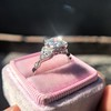 1.31ctw Art Deco Transitional Cut Diamond Ring 9