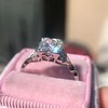 1.31ctw Art Deco Transitional Cut Diamond Ring 6